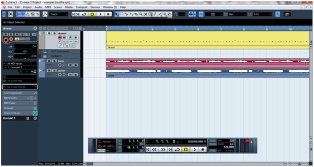 SPLITTING A MIDI DRUM TRACK INTO DIFFERENT CHANNELS IN CUBASE