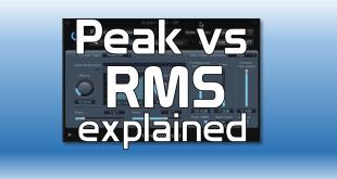 peak vs RMS