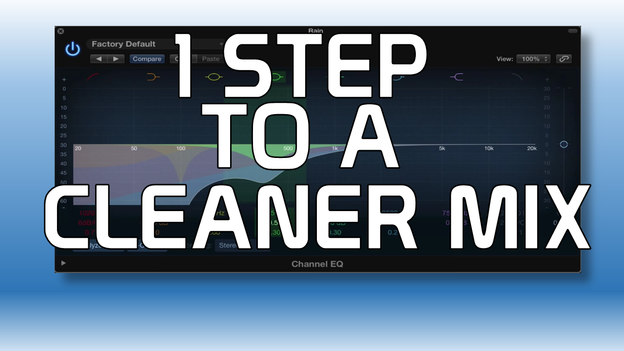 One Easy Step to a Cleaner Mix