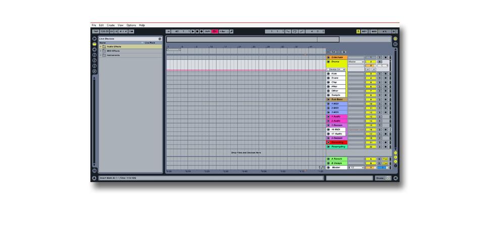 producer workflow tips ableton start up template creating tracks. Black Bedroom Furniture Sets. Home Design Ideas