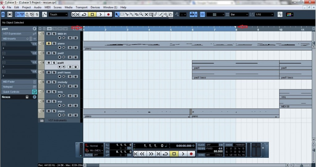 Cubase - How to export midi and VST instruments as audio files 2
