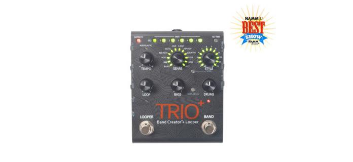 Digitech trio plus guitar pedal