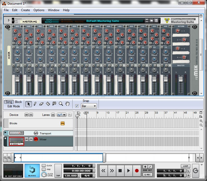 how to send sounds from drum racks ableton