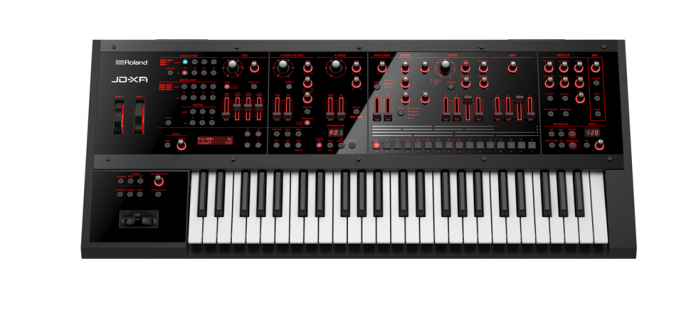 The Roland JD-XA crossover synth
