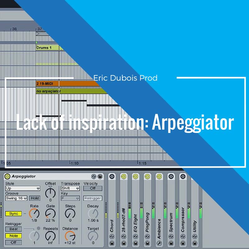 Lack of inspiration Arpeggiator