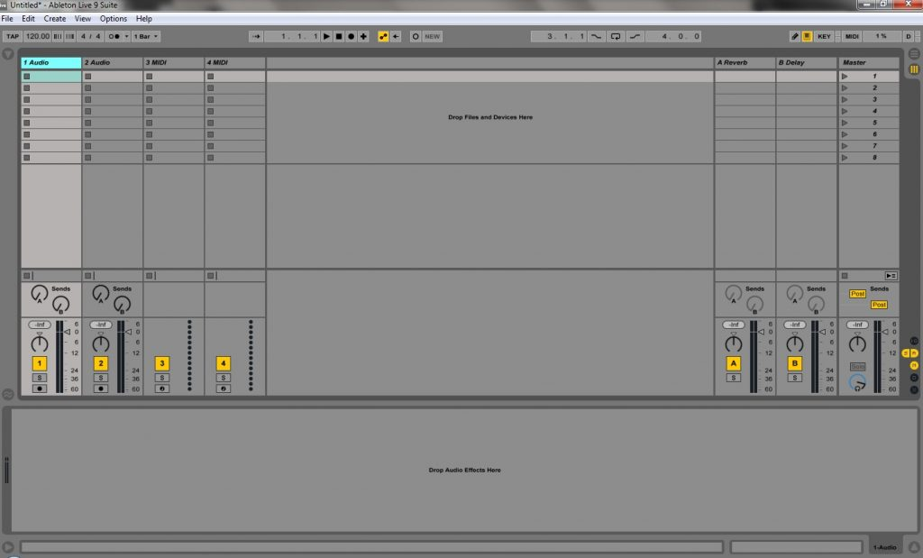 HOW TO RECORD AUDIO IN ABLETON LIVE | Creating Tracks
