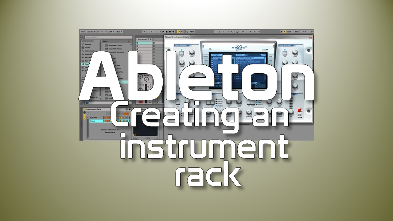 ableton live how to create samples for octatrack