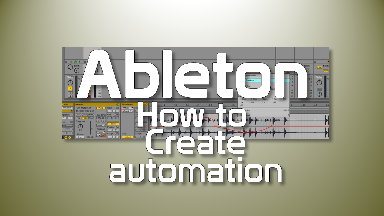 How to create clip automation