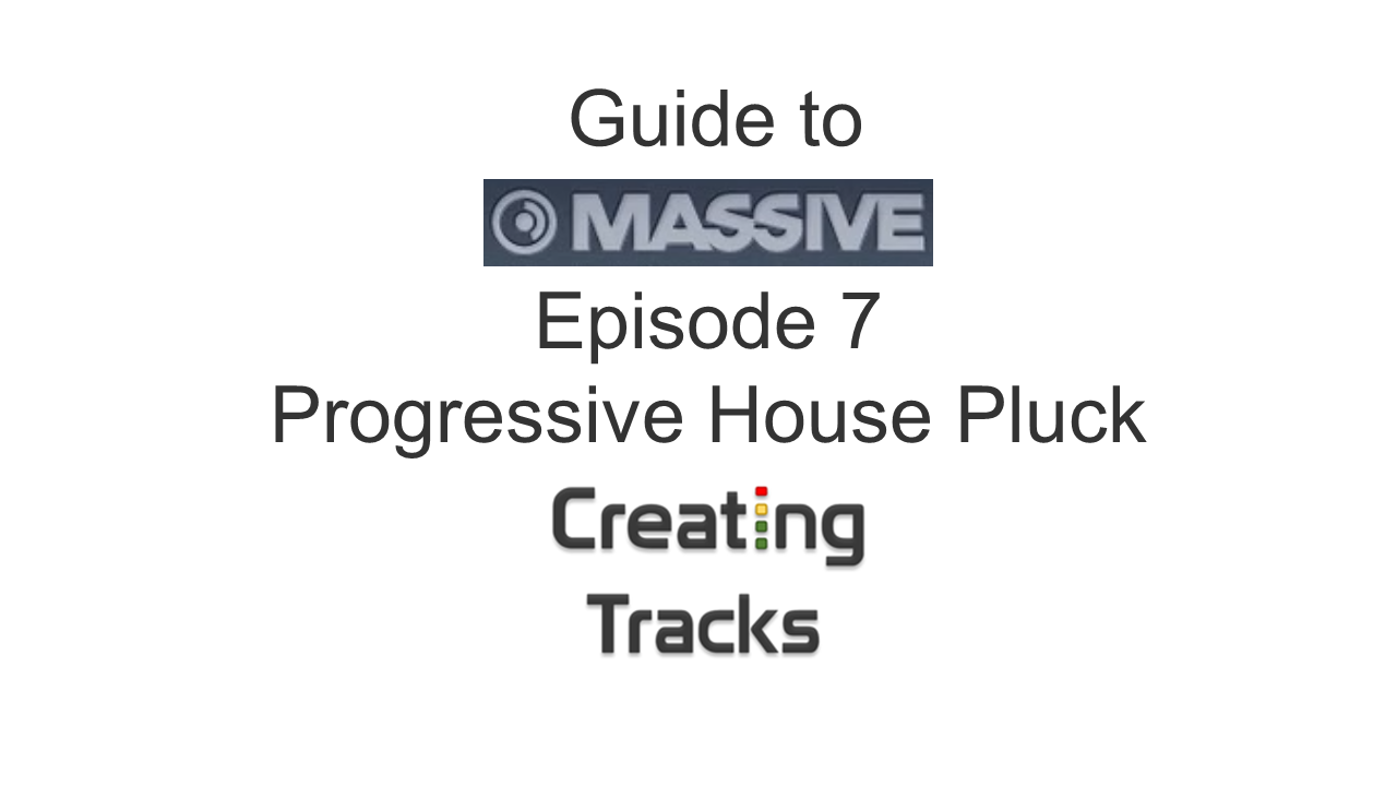 Progressive House Plucks