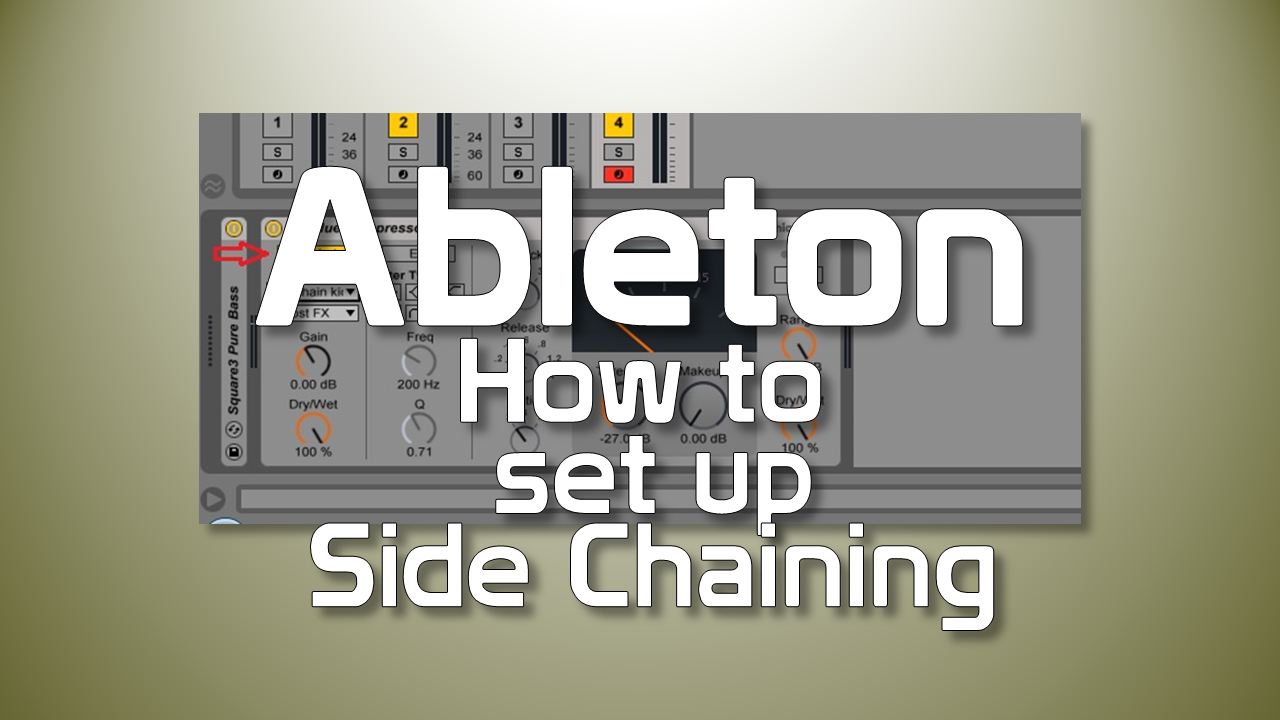 How to set up sidechain in Ableton
