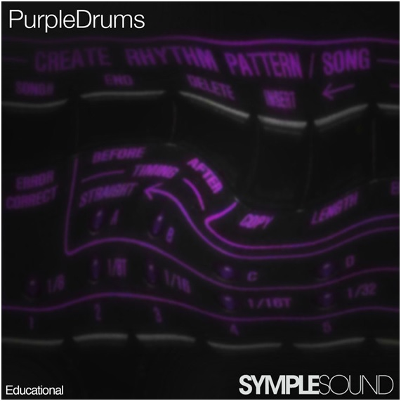 PURPLE DRUMS - BY SYMPLESOUND
