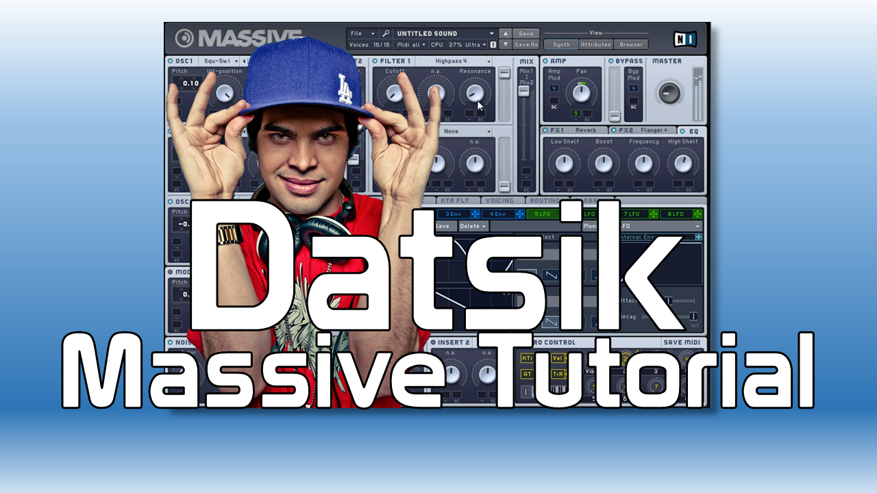 Datsik - Massive Tutorial