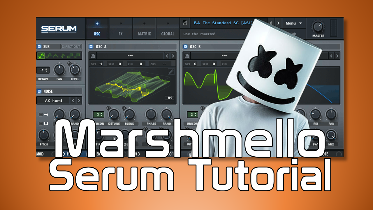 Marshmello Serum tutorial