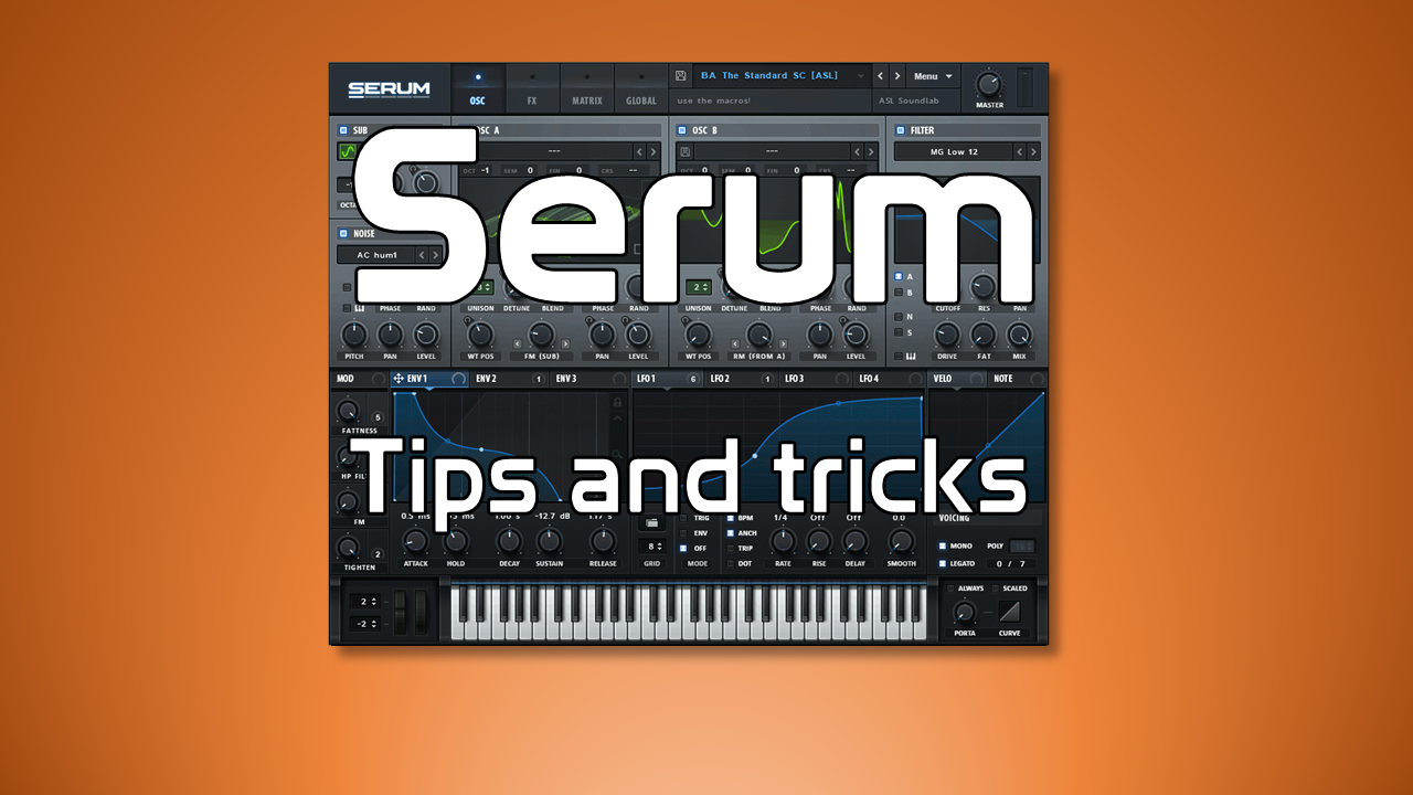 Serum tips and tricks