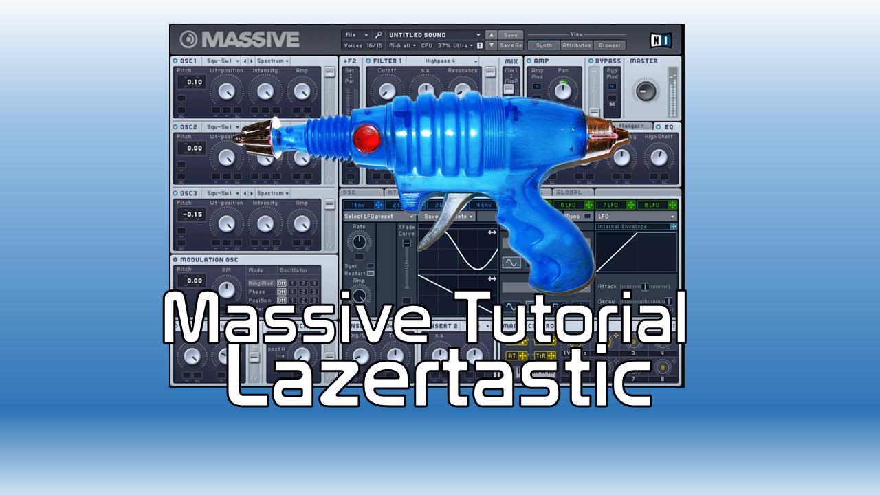 Massive Rhythmic laser sound