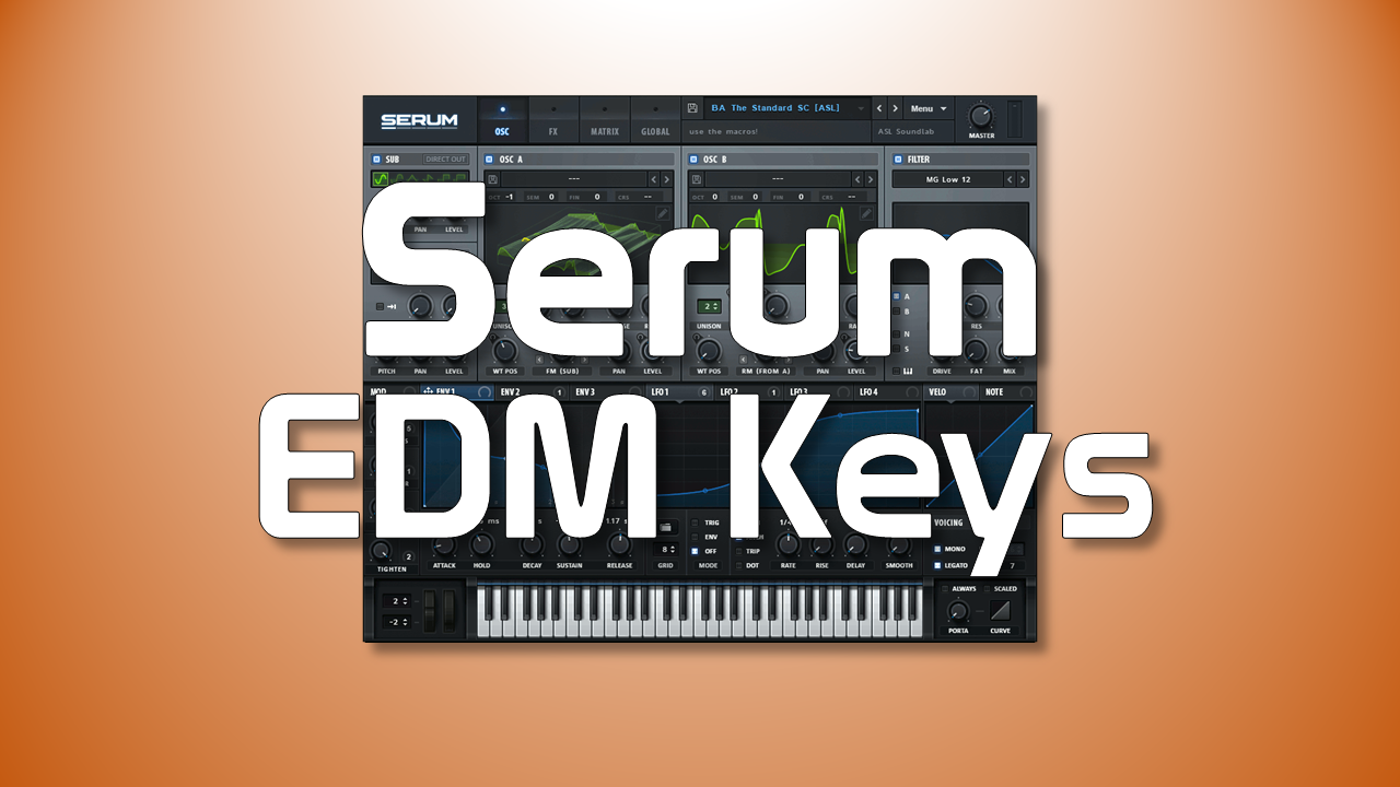 Serum EDM Tutorial