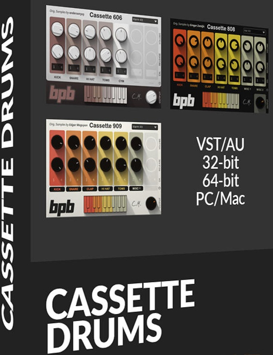 BFB OFFERS FREE CASSETTE DRUMS PLUGIN   Creating Tracks