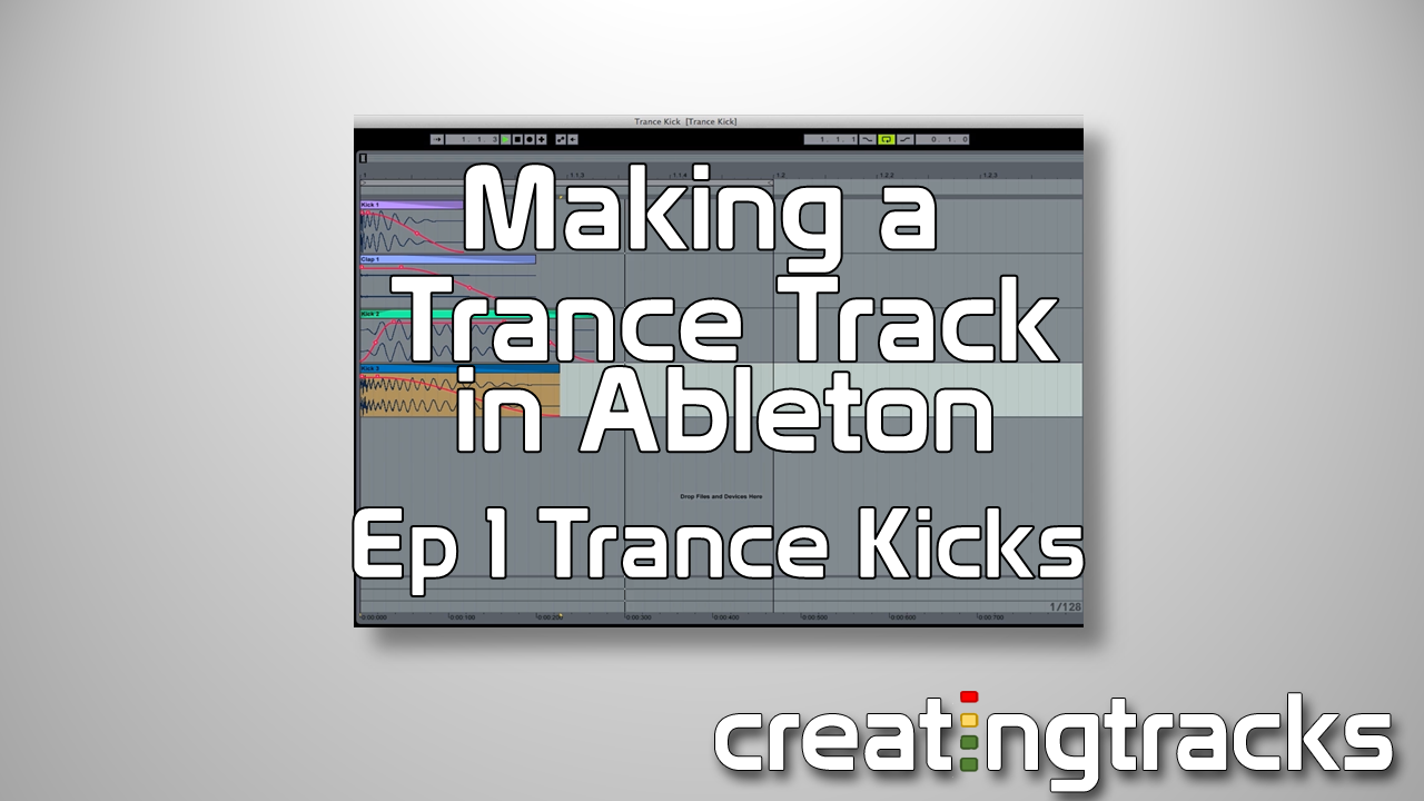 Ableton Trance Kick Drum tutorial for killer drums