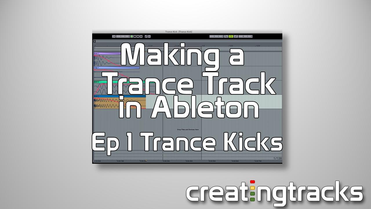Ableton Trance Kick Drum tutorial for killer drums
