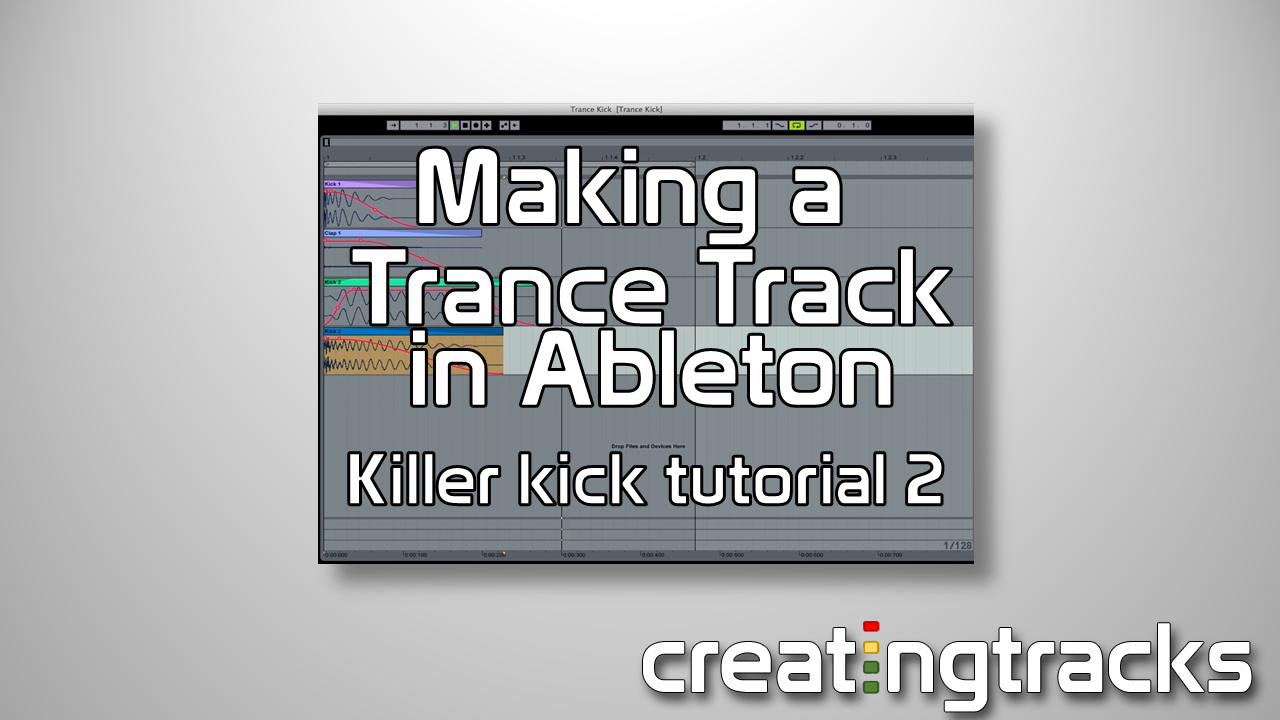 Trance Kick Drum tutorial