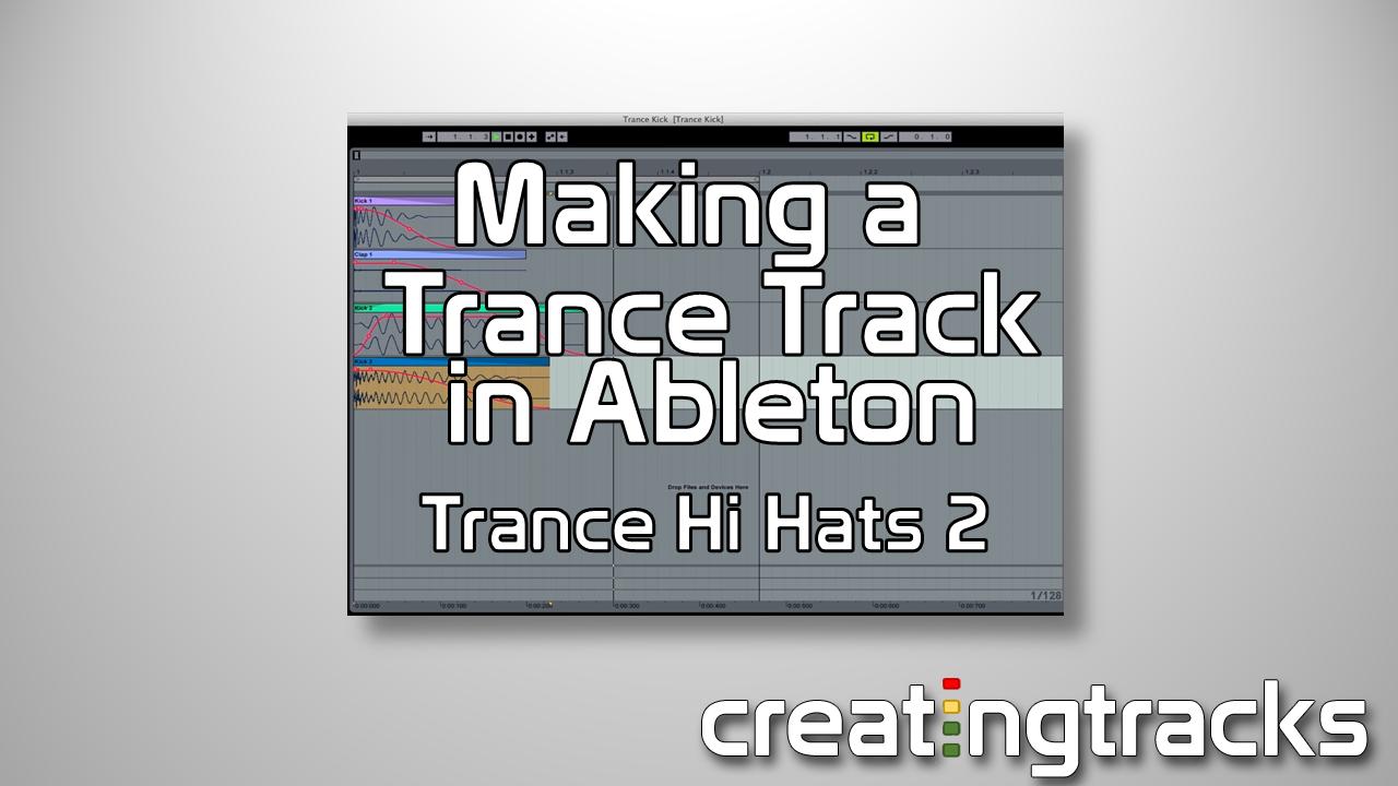 Trance Hihats tutorial