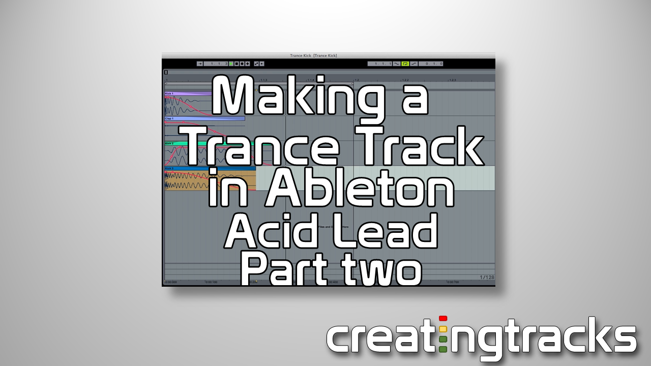 Trance Tutorial Lead sound part 2